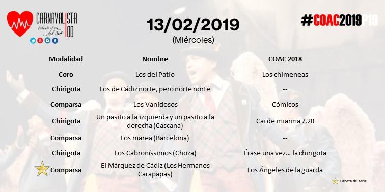 Calendario Coac 2019.Coac2019p19 Carnavalista100